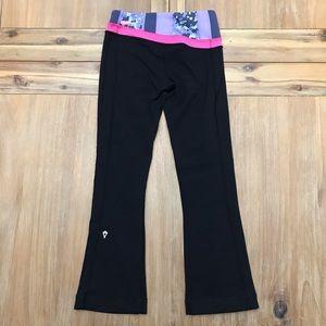 Ivivva by Lululemon Crop Yoga Pants- Reversible